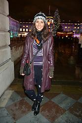 JASMINE HEMSLEY at Skate At Somerset House with Fortnum & Mason on 16th November 2016.