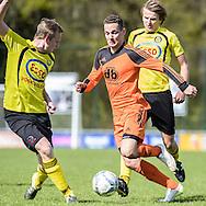 23-04-2016: Voetbal: Woudenberg v Montfoort: Woudenberg<br /> <br /> Max Verweij van vv Montfoort<br /> <br /> Foto: Gertjan Kooij