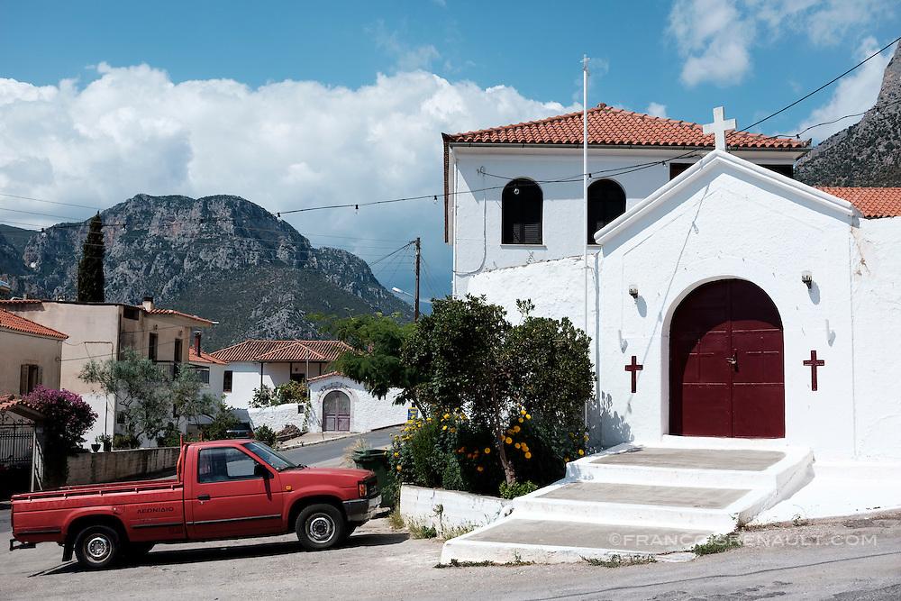 Leonidio, Péloponnèse, Grèce.