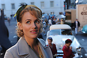 "Produktion ""Schweitzer"".Photo © Stefan Falke / NFP..Therese (Judith Godreche).during rehearsal..4 DAY 2.EXT.CHURCH FORECOURT- NEW YORK CITY.The press interview Schweitzer outside the.church."