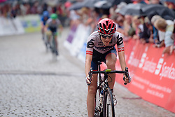 Nicole Hanselmann (Cervélo Bigla) completes the podium in third place at Thüringen Rundfarht 2016 - Stage 7 a 131 km road race starting and finishing in Gera, Germany on 21st July 2016.