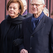 NLD/Rotterdam/20180220 - Herdenkingsdienst Ruud Lubbers, Onno Ruding en partner Renee