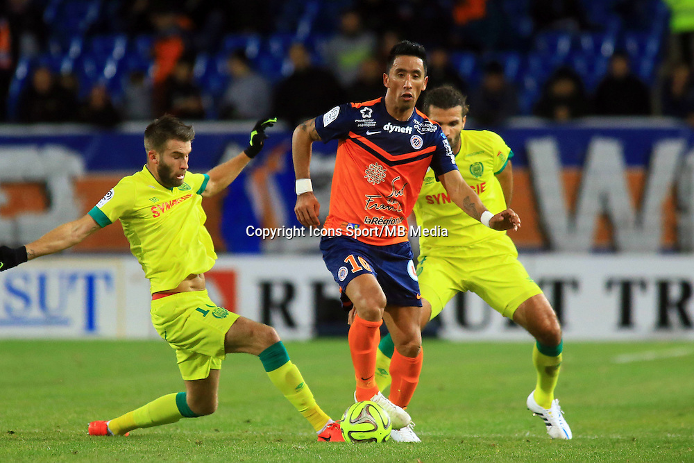 Lucas BARRIOS  - 24.01.2015 - Montpellier / Nantes  - 22eme journee de Ligue1<br /> Photo : Nicolas Guyonnet / Icon Sport *** Local Caption ***