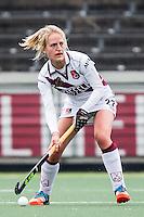 AMSTERDAM - Amsterdam - Den Bosch , Wagener Stadion , Hockey , Play-off hoofdklasse hockey , 03-05-2015 , Amsterdam speelster Lauren Stam