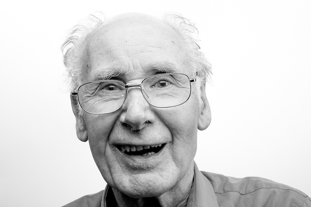 Willian Chalmers, Army - Army Catering Corps, 1952-1952, B2 Cook.  William was stationed in Singapore when the country gained it's independance.  William is registered blind and regularly visits the Scottish War Blinded centre.  Veterans Portrait Project UK, Edinburgh, Scotland.