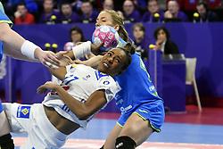 France player Estelle Nze Minko during the Women's european handball chanmpionship preliminary round, Slovenia vs France. Nancy, Fance -02/12/2018//POLEMILE_01POL20181202NAN011/Credit:POL EMILE / SIPA/SIPA/1812021731