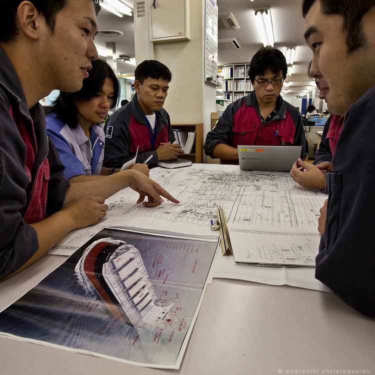 Design office of Tsuneishi shipbuilding