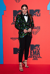 Andrea Duro attends the MTV EMAs 2019 at FIBES Conference and Exhibition Centre on November 03, 2019 in Seville, Spain. Photo by David Niviere/ABACAPRESS.COM