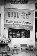 Snake restaurant in Hanoi, Viet nam.