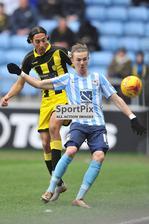 James Maddison Coventry City, Coventry City v Burton Albion, Ricoh Arena,  Sky Bet League 1, Saturday 16th JJanuary 2016, (Mike Capps/Sportpix)