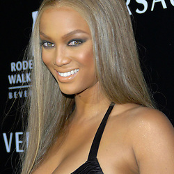 Tyra Banks==<br /> Gianni and Donatella Versace to Receive<br /> Rodeo Drive Walk of Style Award==<br /> Beverly Hills, CA==<br /> February 8, 2007==<br /> &copy;Patrick McMullan==<br /> Photo - Andreas Branch==<br /> ==