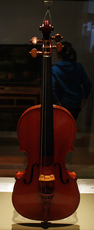 Messiah.  This violin dates from Stradivari's 'Golden Period' of about 1700-1720.  He was then at the height of his powers and had developed an ideal size and shape for making instruments.  This violin owes its fame chiefly to its fresh appearance.  Because it has been owned mostly by collectors and not by professional players, it has not been exposed to the wear and tear of frequent playing.