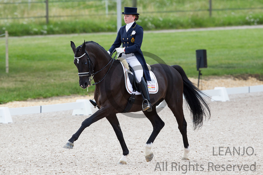 Francesca Hoefnagels - Sir Cloud<br /> FEI European Championships Dressage Juniors and Young Riders 2012<br /> © DigiShots