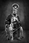 Duane Harris, Diné, southern straight dancer from Albuquerque, N.M.