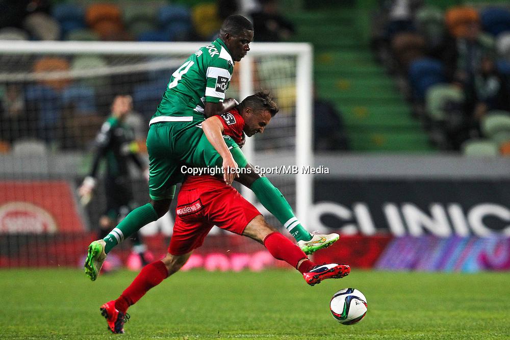 William Carvalho / Joao Martins - 09.03.2015 - Sporting / Penafiel - Liga Sagres<br /> Photo : Carlos Rodrigues / Icon Sport
