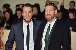 © Licensed to London News Pictures. 28/11/2016. Directors Gabe and Benjamin Turner attend the I Am Bolt world film premiere at the Odeon Leicester Square in London.  Photo credit: Ray Tang/LNP