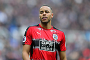 Mathias Zanka Jorgensen (#25) of Huddersfield Town during the Premier League match between Newcastle United and Huddersfield Town at St. James's Park, Newcastle, England on 31 March 2018. Picture by Craig Doyle.