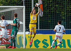 31.05.2015, Stadion Wolfsberg, Wolfsberg, AUT, 1. FBL, RZ Pellets WAC vs SK Rapid Wien, 35. Runde, im Bild v.l. Alexander Kofler (RZ Pellets WAC) // during the Austrian Football Bundesliga 35th Round match between RZ Pellets WAC and SK Rapid Vienna at the Stadium Wolfsberg in Wolfsberg Austria on 2015/05/31, EXPA Pictures © 2015, PhotoCredit: EXPA/ Wolfgang Jannach