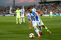September 26, 2018 - Perez of Leganes during the La Liga (Spanish Championship) football match between CD Leganes and FC Barcelona on September 26th, 2018 at Municipal Butarque stadium in Madrid, Spain. (Credit Image: © AFP7 via ZUMA Wire)