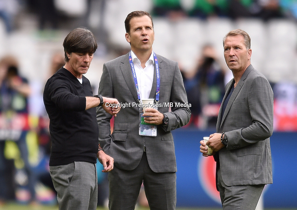 2016.06.16 Saint-Denis<br /> Pilka nozna Euro 2016<br /> mecz grupy C Polska - Niemcy<br /> N/z Joachim Loew trener head coach<br /> Foto Lukasz Laskowski / PressFocus<br /> <br /> 2016.06.16 Saint-Denis<br /> Football UEFA Euro 2016 group C game between Poland and Germany<br /> Joachim Loew trener head coach<br /> Credit: Lukasz Laskowski / PressFocus