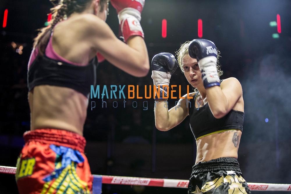 Iman Barlow vs. Marina Zueva