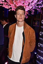 Ed Speleers at the launch of Nobu Hotel London Shoreditch,10-50 Willow Street, London, England. 15 May 2018.