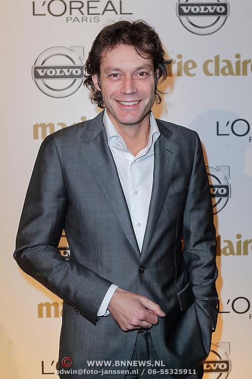 NLD/Amsterdam/20121119 - Inloop Marie Claire Prix de la Mode 2012 , Joost Karhof