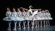 La Bayadere <br /> A ballet in three acts <br /> Choreography by Natalia Makarova <br /> After Marius Petipa <br /> The Royal Ballet <br /> At The Royal Opera House, Covent Garden, London, Great Britain <br /> General Rehearsal <br /> 30th October 2018 <br /> <br /> STRICT EMBARGO ON PICTURES UNTIL 2230HRS ON THURSDAY 1ST NOVEMBER 2018 <br /> <br /> <br /> Akane Takada - the Shades <br /> <br /> <br /> <br /> Photograph by Elliott Franks Royal Ballet's Live Cinema Season - La Bayadere is being screened in cinemas around the world on Tuesday 13th November 2018 <br />