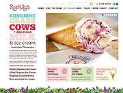 CLIENT: ROSKILLY'S // <br /> PROJECT: PRINT & WEB // DESIGN AND ART DIRECTION: ALEX GRAHAM www.alexgrahamdesign.co.uk
