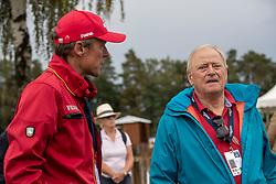 Schwarz Rüdiger, Thomsen Peter, GER<br /> Luhmühlen - LONGINES FEI Eventing European Championships 2019<br /> Impressionen am Rande<br /> Teilprüfung Dressur 4. Teil CCI4*<br /> Dressage CH-EU-CCI4*-L: 4th part<br /> 30. August 2019<br /> © www.sportfotos-lafrentz.de/Dirk Caremans