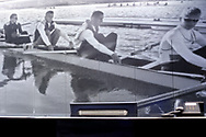 Poznan, Poland - 2018 July 26: Permanent rowing exhibition in HP Park Hotel during 2018 World Rowing Under 23 Championships on Malta Lake on July 26, 2018 in Poznan, Poland.<br /> <br /> Adam Nurkiewicz declares that he has no rights to the image of people at the photographs of his authorship.<br /> <br /> Picture also available in RAW (NEF) or TIFF format on special request.<br /> <br /> Any editorial, commercial or promotional use requires written permission from the author of image.<br /> <br /> Image can be used in the press when the method of use and the signature does not hurt people on the picture.<br /> <br /> Mandatory credit:<br /> Photo by © Adam Nurkiewicz / Mediasport