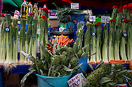 Leeks and the Evil Eye at Urla Market
