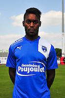 Mayingila N'Zuzi Mata - 05.09.2014 - Photo officielle Niort - Ligue 2 2014/2015<br /> Photo : Philippe Le Brech / Icon Sport