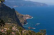 Vista MIradouro Cabanas, São Jorge, Ilha da Madeira.