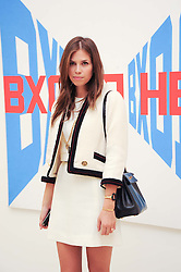 DASHA ZHUKOVA at the BRIC art sale preview (Brazil, Russia, India & China, the acronym BRIC here refers to the burgeoning contemporary art practices within these four countries.) organised by Phillips de Pury & Company at The Saatchi Gallery, London on 17th April 2010. *** Local Caption *** Image free to use for 1 year from image capture date as long as image is used in context with story the image was taken.  If in doubt contact us - info@donfeatures.com<br /> DASHA ZHUKOVA at the BRIC art sale preview (Brazil, Russia, India & China, the acronym BRIC here refers to the burgeoning contemporary art practices within these four countries.) organised by Phillips de Pury & Company at The Saatchi Gallery, London on 17th April 2010.