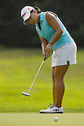 Jenny Suh in action at the U.S. Women's Amateur at Crooked Stick Golf Club on Aug. 7, 2007 in Carmel, Ind.    ...©2007 Scott A. Miller