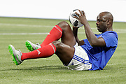 Lilian Thuram (France 98) at warm up during the 2018 Friendly Game football match between France 98 and FIFA 98 on June 12, 2018 at U Arena in Nanterre near Paris, France - Photo Stephane Allaman / ProSportsImages / DPPI