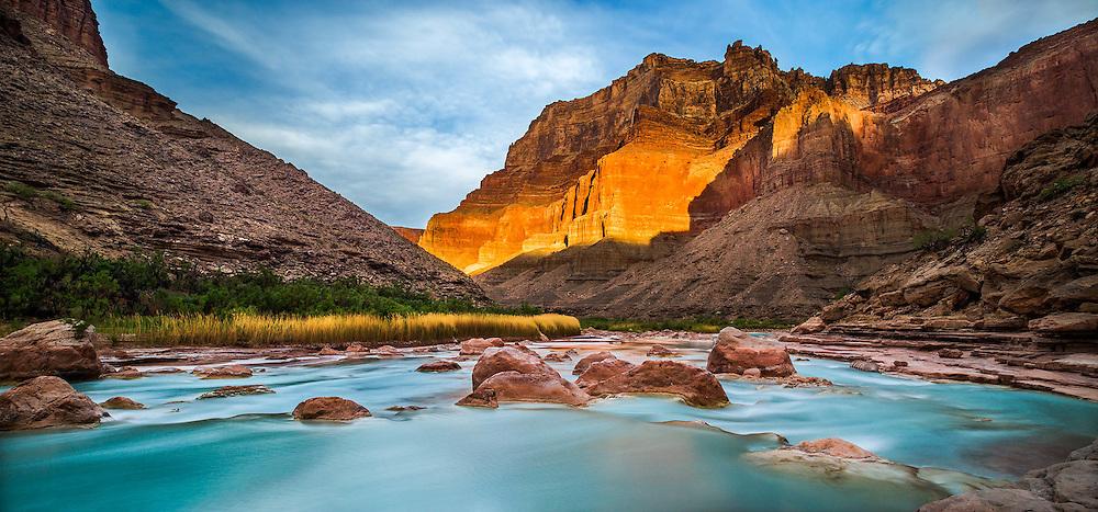 Grand Canyon Little Colorado River, Sunrise.