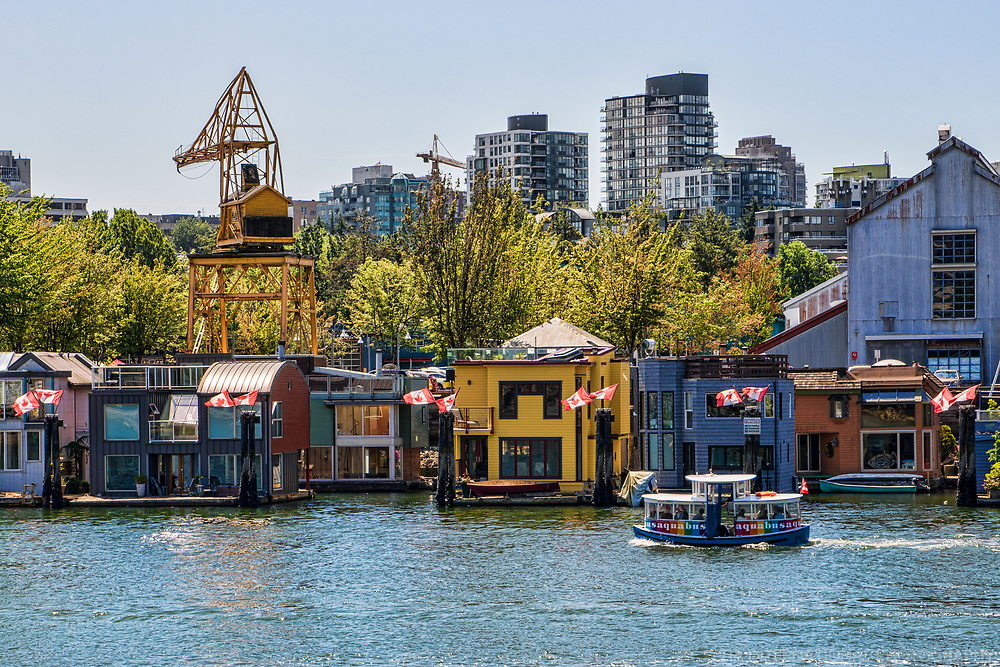 Granville Island Houseboats, False Creek