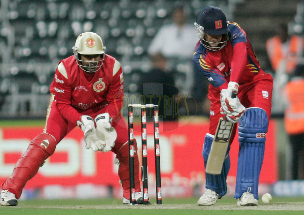 Lions player Robert Frylinck during match 18 of the Airtel CLT20 held between the Lions and Royal Challengers Bangalore at The Wanderers Stadium in Johannesburg on the 19 September 2010..Photo by: Abbey Sebetha/SPORTZPICS/CLT20