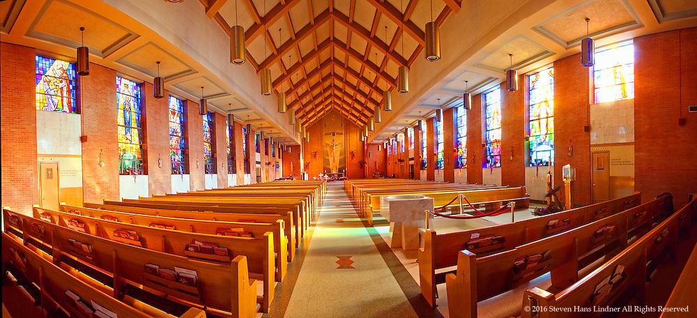 Saint Theresa Church Sanctuary Interior