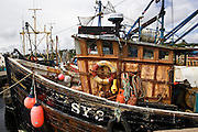 Trawler fishing boat in Stornoway, Outer Hebrides, United Kingdom