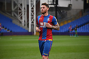 Connor Wickham comes through unscaved in his return during the Final Third Development League match between U21 Crystal Palace and U21 Bristol City at Selhurst Park, London, England on 3 November 2015. Photo by Michael Hulf.