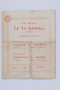 Interprovincial Railway Cup Football Cup Final,  17.03.1955, 03.17.1955, 17th March 1955, referee R Staiclium, Connacht 1-10, Leinster 1-14.Interprovincial Railway Cup Hurling Cup Final,  17.03.1955, 03.17.1955, 17th March 1955, referee S O Cleirig, Leinster 2-09, Munster 3-10,..WRONG FOLDER
