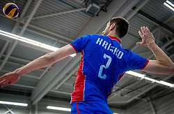 23-05-2017 NED: 2018 FIVB Volleyball World Championship qualification, Koog aan de Zaan<br /> Slowakije - Oostenrijk / Tomas Kristo #2