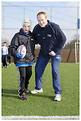 Sale Sharks Premier rugby camp at Macclesfield. 22-02-2006. Pics with Players