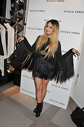 ZARA MARTIN at a party to celebrate the opening of the new Nicole Farhi global flagship store at 25 Conduit Street, London W1 on 19th September 2011.
