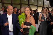 Mr. and Mrs. Guy Dellal. The Serpentine Summer party co-hosted by Jimmy Choo. The Serpentine Gallery. 30 June 2005. ONE TIME USE ONLY - DO NOT ARCHIVE  © Copyright Photograph by Dafydd Jones 66 Stockwell Park Rd. London SW9 0DA Tel 020 7733 0108 www.dafjones.com