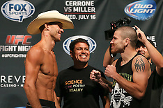 July 15, 2014: UFC Fight Night 45 Weigh-In's
