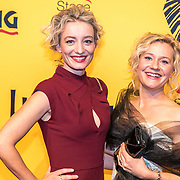 NLD/Scheveningen/20161030 - Premiere musical The Lion King, Karina Smulders en vriendin